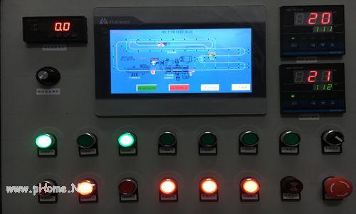 乐山东川公司涂装线PLC集控系统