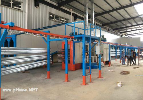 阆中东升公司涂装线悬挂系统展示